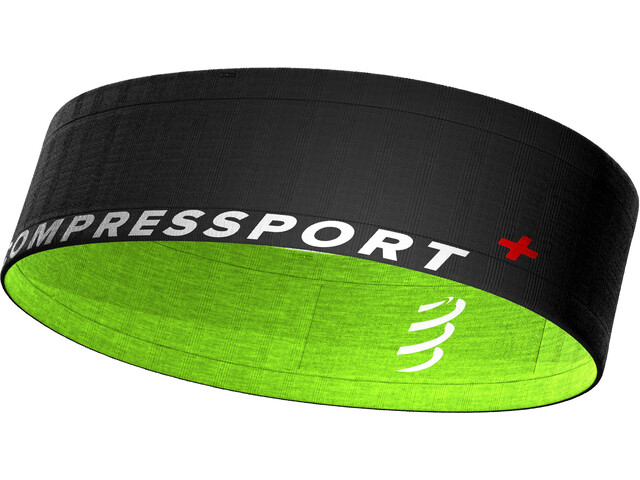 Compressport Free Riem, black/lime